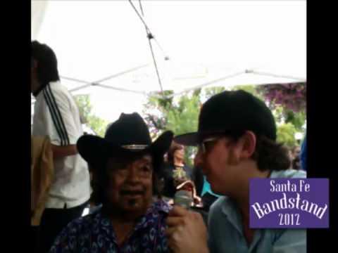 Guitar Shorty Interview at Santa Fe Bandstand