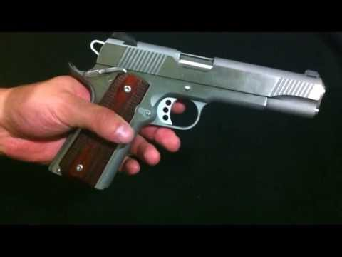 Springfield 1911 A-1 Loaded Stainless Review