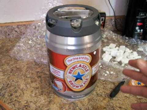 Beer Mail: Newcastle Brown Ale Mini-Keg