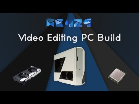 Computer Build 2013 Video Editing PC - (The White Tank)