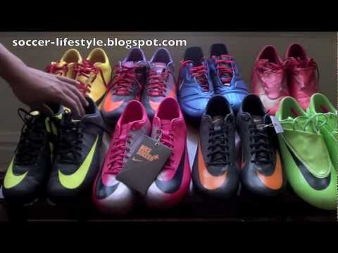 My Nike Soccer Cleats Collection