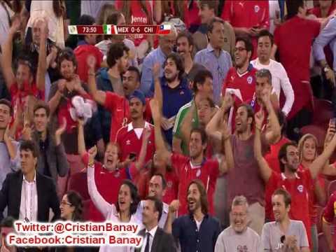 (Relator Enojado) Chile 7 Mexico 0 (TDW Radio Mexico) Copa America Centenario 2016