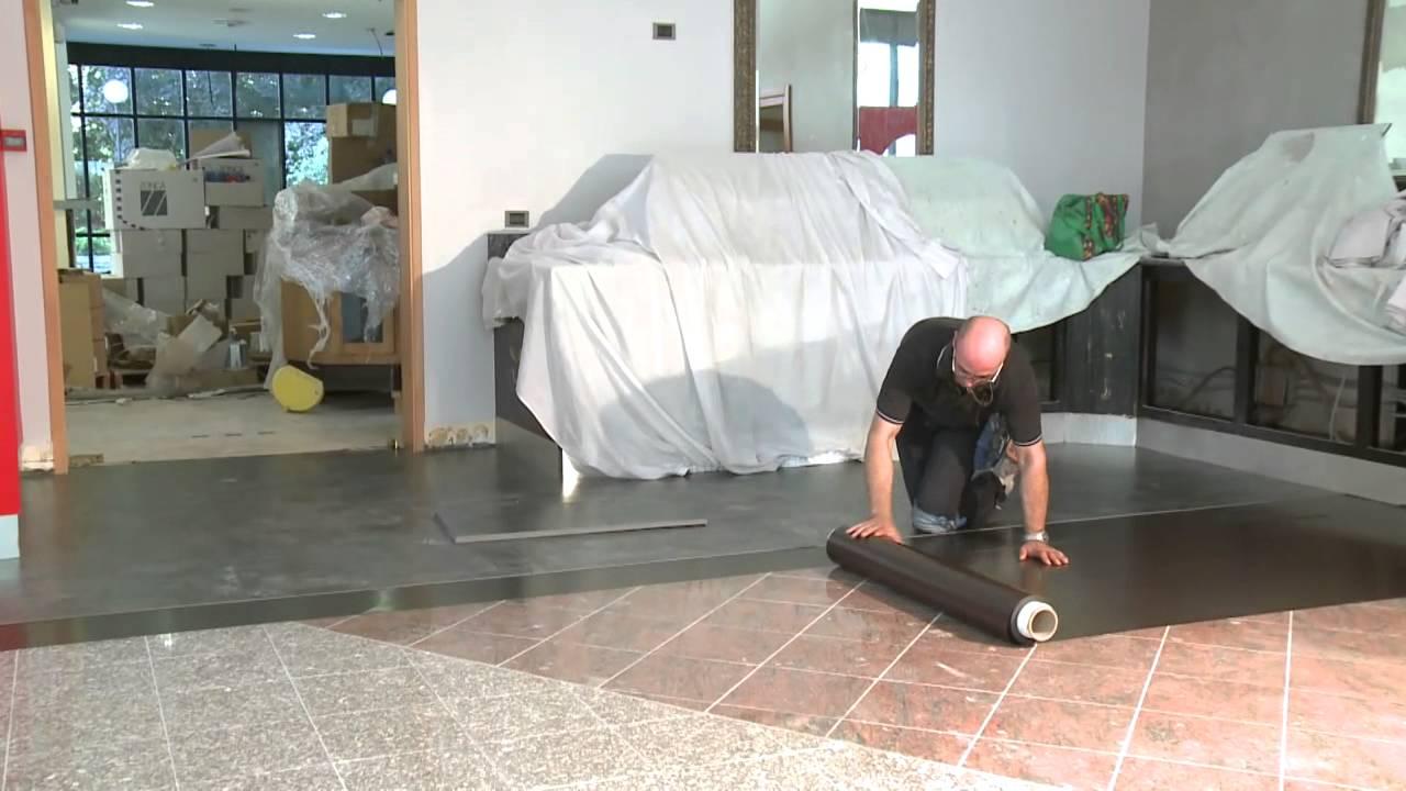 Montaggio pavimento magnetico youtube for Pavimenti 3d prezzi