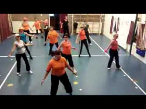 Dance For 1 Goal -- Waka Waka -- Zumba Class Driewegen 2 Netherlands video