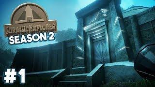 FINDING THE OLD JURASSIC PARK RUINS! | Jurassic Explorer (FREE Jurassic Park / World Game)