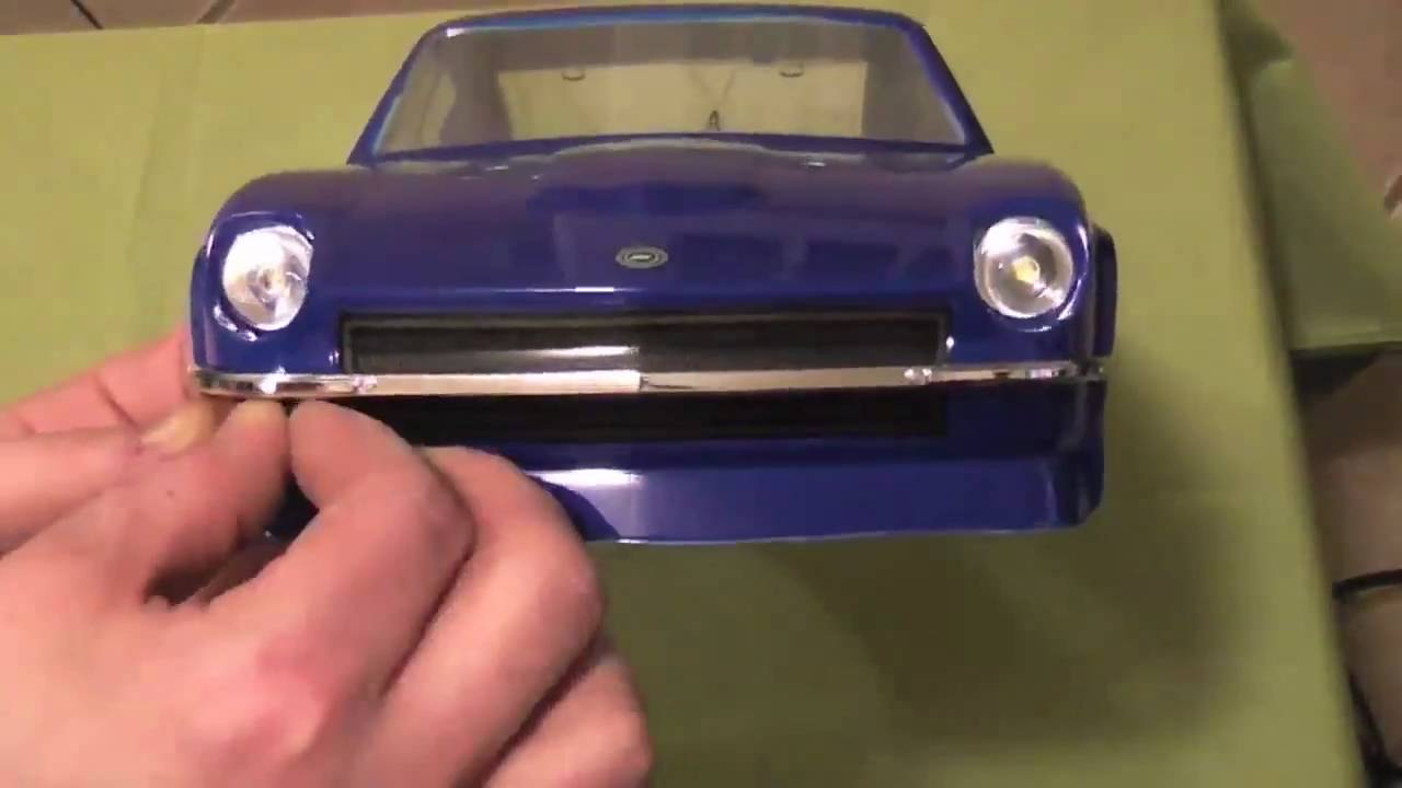 Tamiya Datsun 240Z painting - YouTube