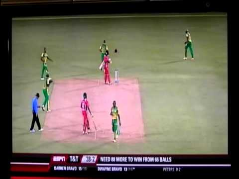 Dwayne Bravo, and Darren Bravo, Trinidad vs Windward Islands 2013