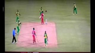 Dwayne Bravo, and Darren Bravo, Trinidad vs Windward Islands 2013