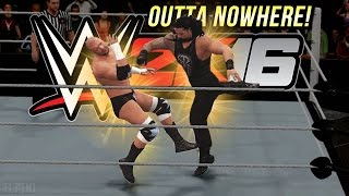 WWE 2K16 Fury : Superman Punch Outta Nowhere!