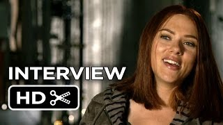 Captain America: The Winter Soldier Interview - Scarlett Johansson (2014) - Marvel Movie HD