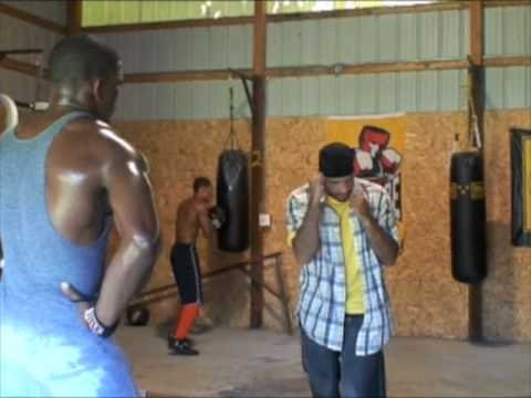 Professional Boxing Footwork Instruction