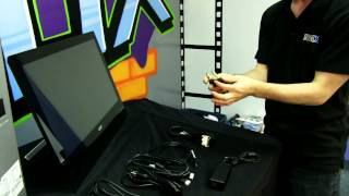 Acer T232HL Touchscreen Windows 8 Ready IPS LCD Monitor Unboxing & First Look Linus