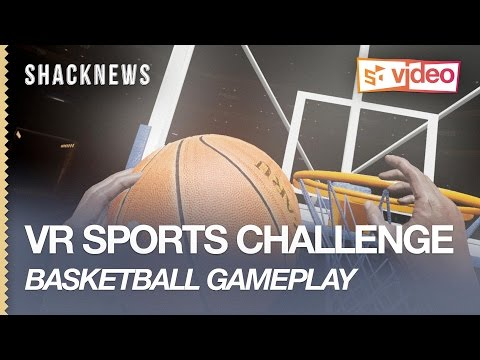 VR SPORTS CHALLENGE: Basketball Gameplay