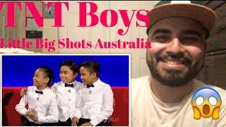 Download Lagu Reaction to TNT Boys Little Big Shots Australia Gratis STAFABAND