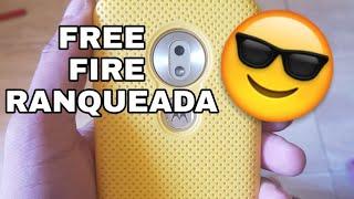 Moto G7 Play - FREE FIRE NO MODO RANQUEADA NO ULTRA