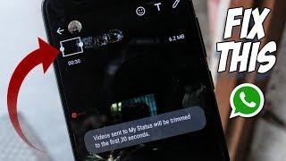 HOW TO POST MORE THAN 30 SECONDS VIDEO ON WHATSAPP STATUS! New WhatsApp Tricks & Hacks 2017