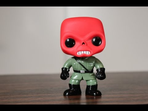 Red Skull Funko Pop review