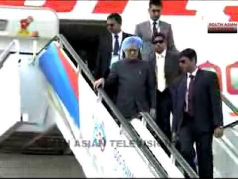 Indian PM Manmohan Singh at G20 Summit Russia