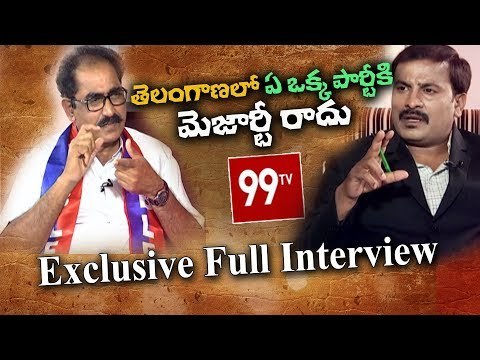 BLF Convenor Tammineni Exclusive Full  Interview | Political View | 99 TV Telugu