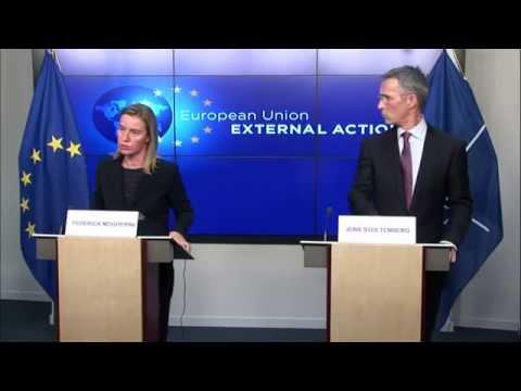 HRVP Federica Mogherini and Jens Stoltenberg, NATO Secretary General
