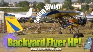 Backyard Flyer, Backyard Flyer HP, Backyard Flyer HP experimental light sport aircraft.