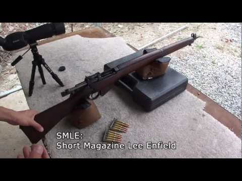SMLE Lee Enfield No4 Mk1 Canadian Long-branch 303 British WW2 rifle