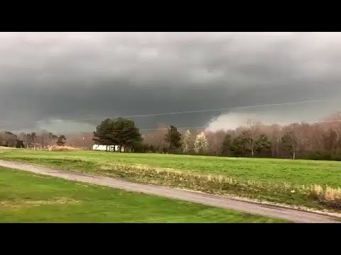 Footage of at least two tornadoes in north Alabama in March, 2018