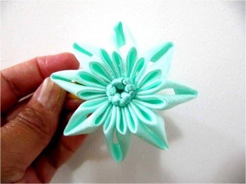 Moños flores  estrellas en cintas para el cabello calados y dobleces