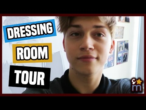 BEST FRIENDS WHENEVER Dressing Room Tour w/ Ricky Garcia & Landry Bender
