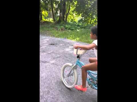 Annbelle biking