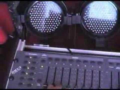 DMX lighting controller programming part 2
