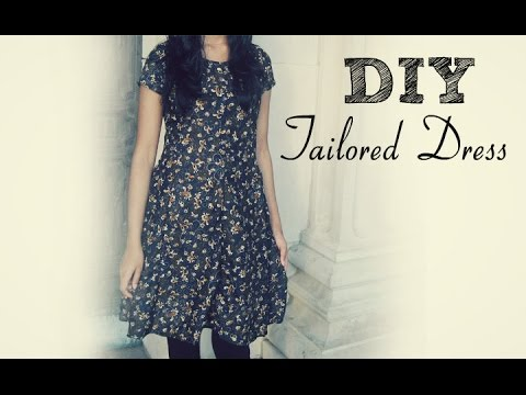 ✄ Diy: How To Sew A Dress Without A Pattern ✄ video