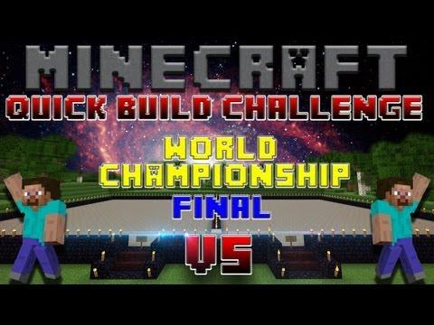 Minecraft Quick Build Challenge - Maze! (No Flying)