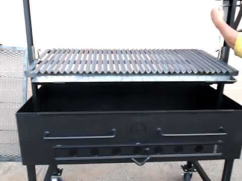 AZ BBQ Outfitters Open Face Grill 24 x 48