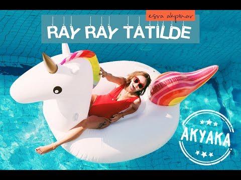 AKYAKA'DA BENİ KİME SORSAN GÖSTERMEZ! 🌞🌊  Ray Ray Tatilde - Akyaka #1