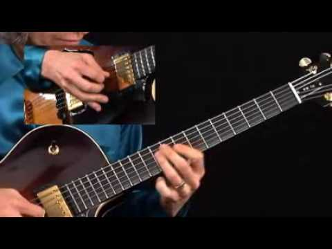 Guitar Lesson - Mimi Fox - Flying Solo - Bossa Integrated Solo Performance