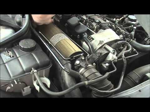 Mercedes Benz Clk  Changing Fuel Pump