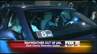Floyd Mayweather Jr released after 2 months in Vegas jail