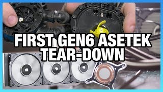 Corsair H150i Pro Tear-Down: Asetek's Gen6 Changes
