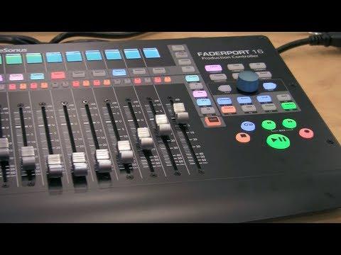 PreSonus Faderport 16 DAW Production Controller | NAMM 2018