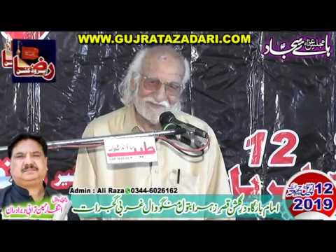 Zakir Syed Shafqat Mohsin Kazmi | 12 April 2019 | Mangowal Gujrat || Raza Production