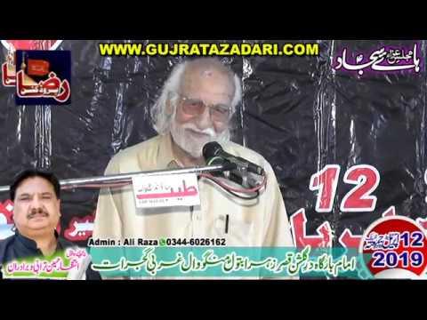 Zakir Syed Shafqat Mohsin Kazmi | 12 April 2019 | Mangowal Gujrat || Raza Production