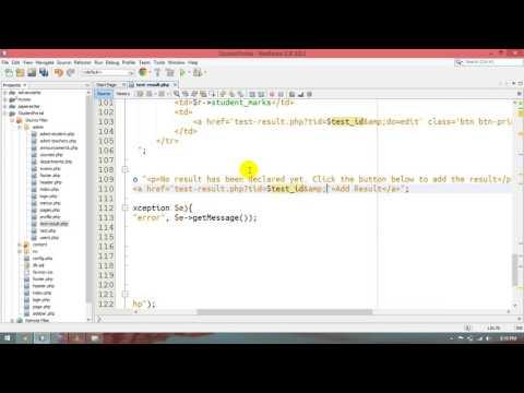33 – Student Portal in PHP/MySQL (Pashto)