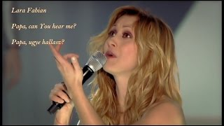 Watch Lara Fabian Papa Can You Hear Me video