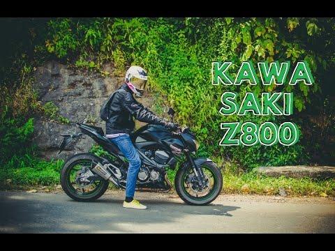 Kawasaki Z800(Akrapovic) : First Ride & Review : Superbikes in India