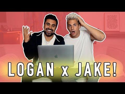 REACTING TO LOGAN PAUL/JAKE PAUL LOVE SONG! w/ George Janko
