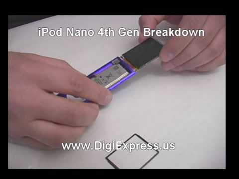 DigiExpress - iPod Nano 4th Generation Breakdown