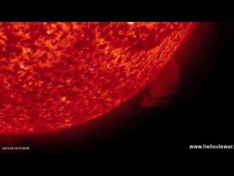 3MIN News May 15, 2013: X Class Flare Again