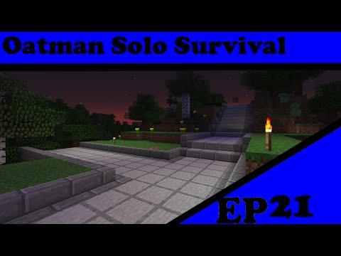 Minecraft Oatman Solo Survival Season 3 ep21