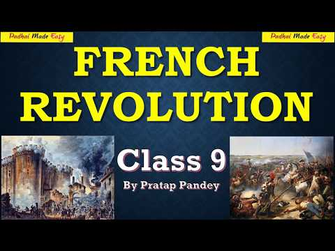 French revolution part 1 in Hindi CBSE Board Class 9 History
